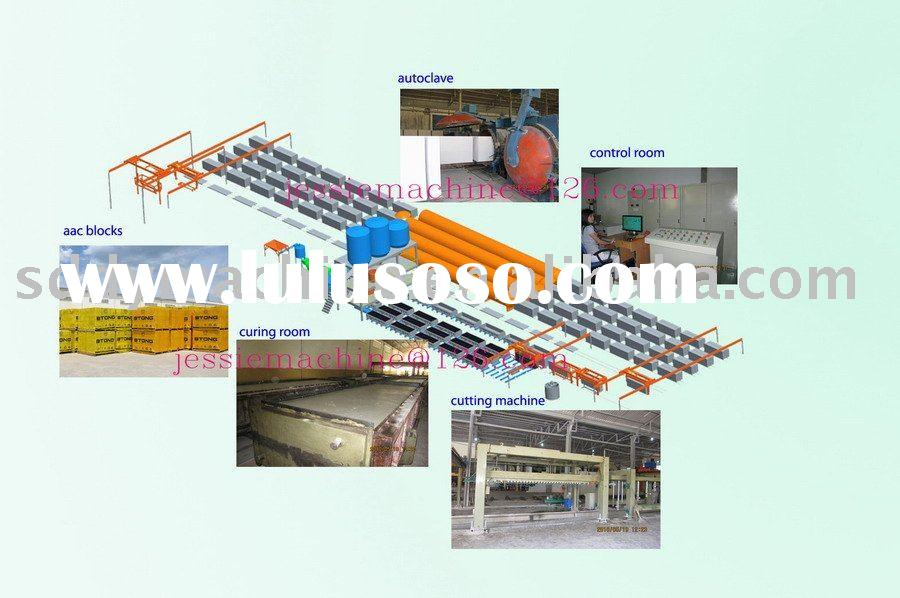 Foam Concrete Machine (light weight block machine plant)