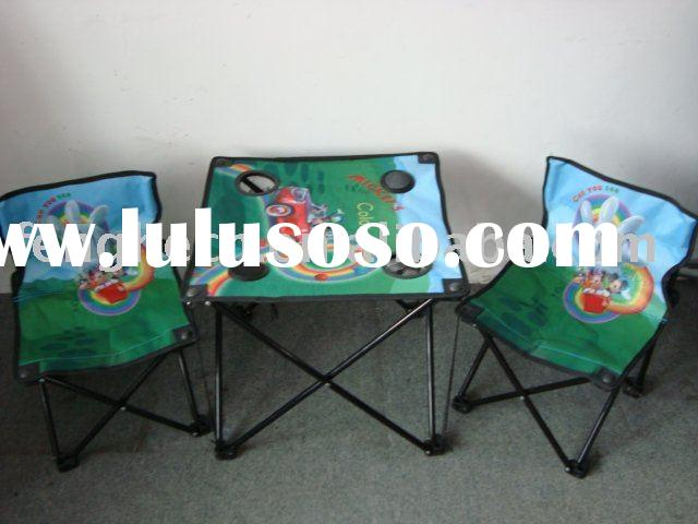 Folding Table and Chairs set with Speaker