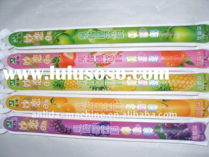 Freeze pops filling sealing packing machine