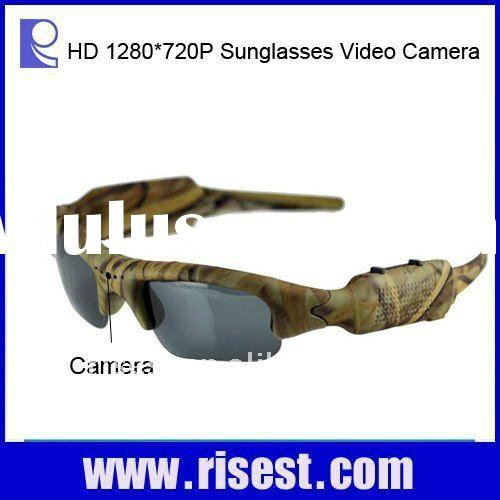 Full HD Hunting Video Glasses Camera Camouflage