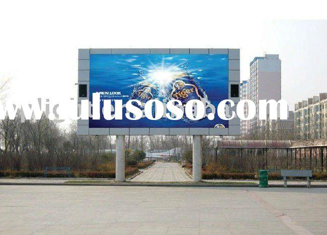 Full color advertising LED video display/video wall/LED screen/big LED TV/advertising wall