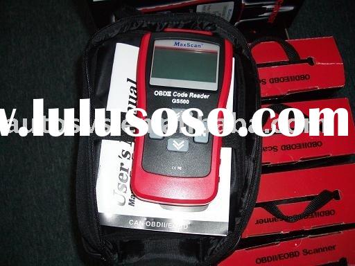 GS500 CAN BUS OBDII OBD OBD2 EOBD CODE SCANNER WITH LIVE DATA