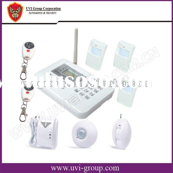 GSM Home Alarm System with 2 way Communication and 2 Outputs and SMS Control. S100