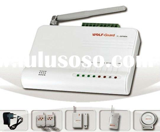 GSM Home Security Alarm System with Home Appliance Control