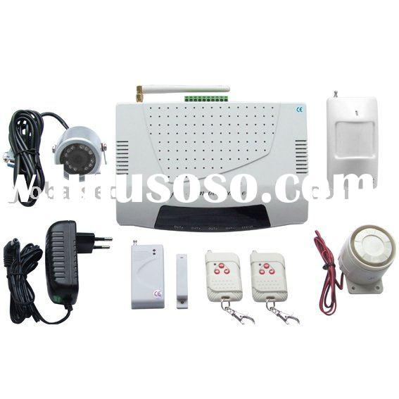 GS-M4 GSM/GPRS MMS Home Alarm System with camera
