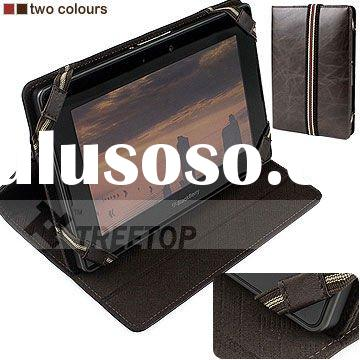 Genuine leather case for BlackBerry PlayBook, cover for playbook