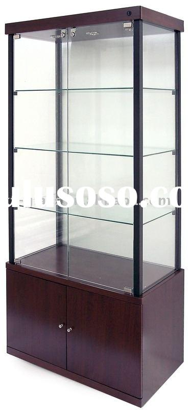 Glass show case;display;window display;cabinet-Sc18