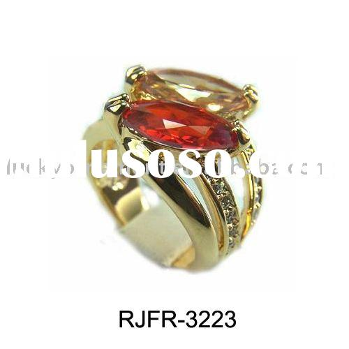 Gold rings/Cubic zircon ring/New design finger rings/costume jewelry/finger ring/colorful rings/CZ r