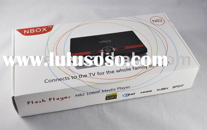 HDD media player Nbox N82 HDMI component composite output 1080p high definition