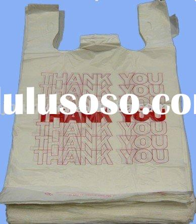 HDPE T-shirt plastic bag