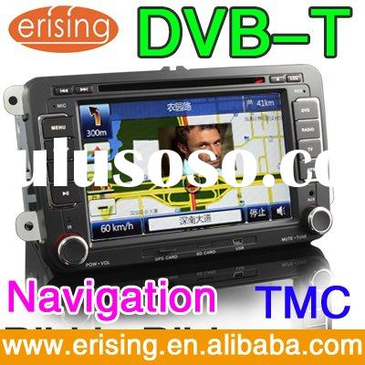 HD 800X480 7 Inch 2 din Auto Radio Stereo GPS TV Touchscreen for VW