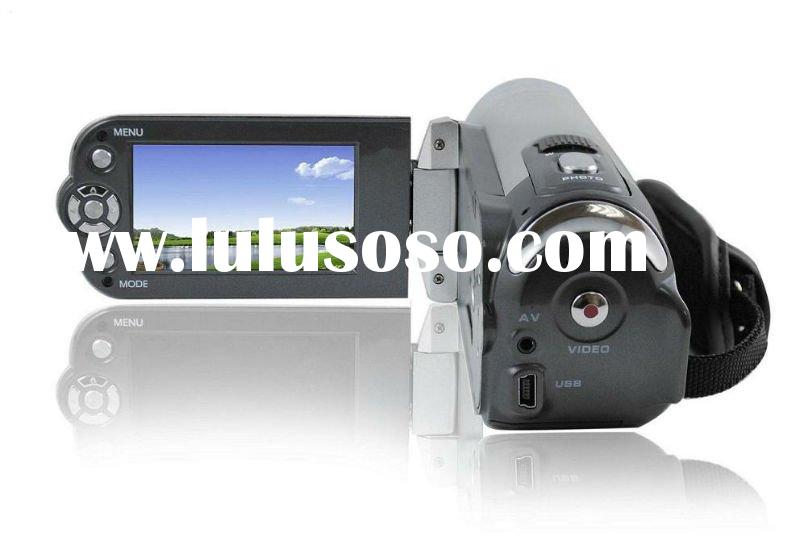 HD digital camcorder with optical zoom, 16mp digital video camera