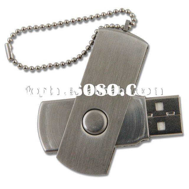 HOT!!!Best selling OEM Metal Swivel 1G-64GB USB flash drive