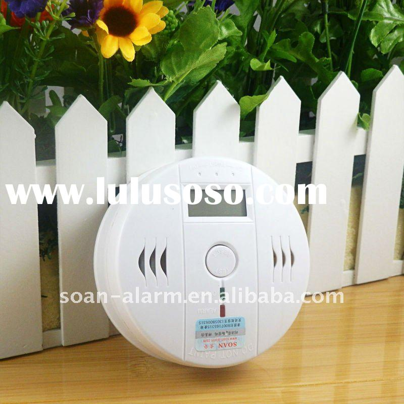 HOT NEW best seller carbon monoxide detector co detector can work alone co lcd alarm