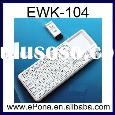 HOT REAL QWERT Bluetooth Mini Wireless Keyboard with Touchpad