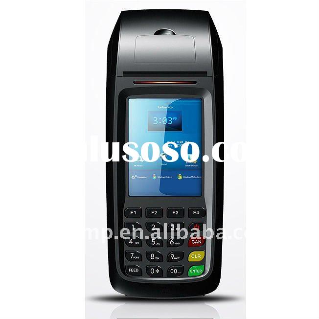 Handheld EFTPOS Terminal supports 1D/2D barcode scanner/ FRID reader/ Smart Card reader/ Magnetic Ca