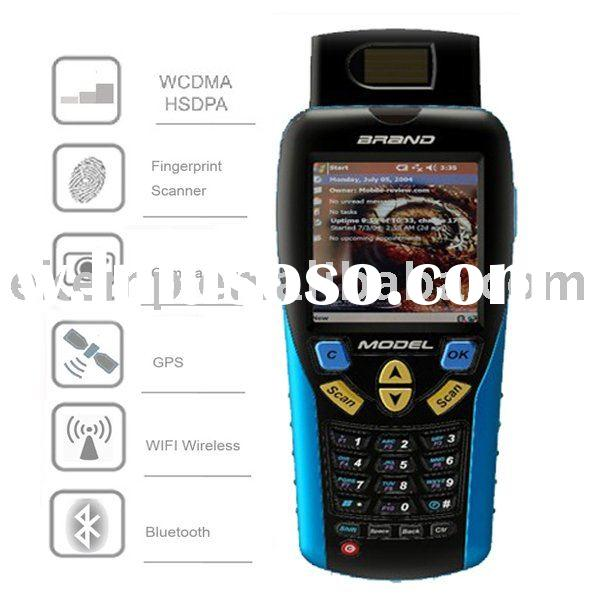 Handheld biological data collector with thumb reader,GPRS,barcode scanner (EM6000)