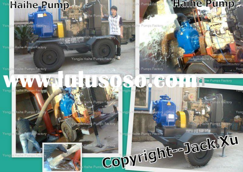Heavy Duty Industrial Self-Priming Water Pump