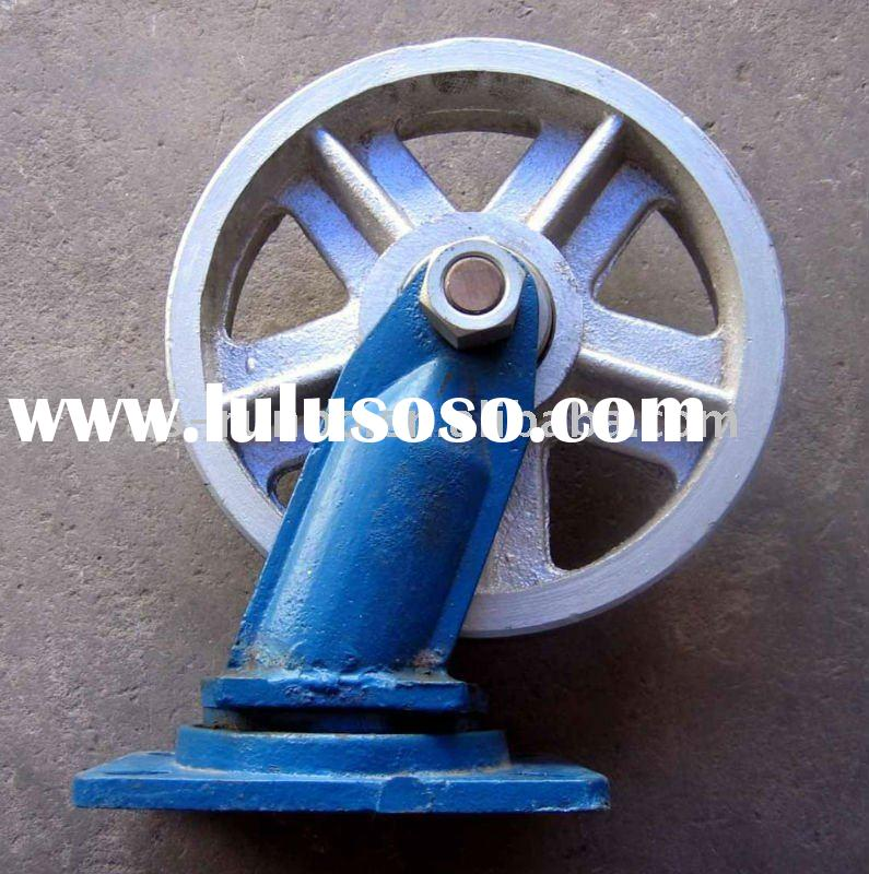 Heavy duty Industrial cast iron caster wheels