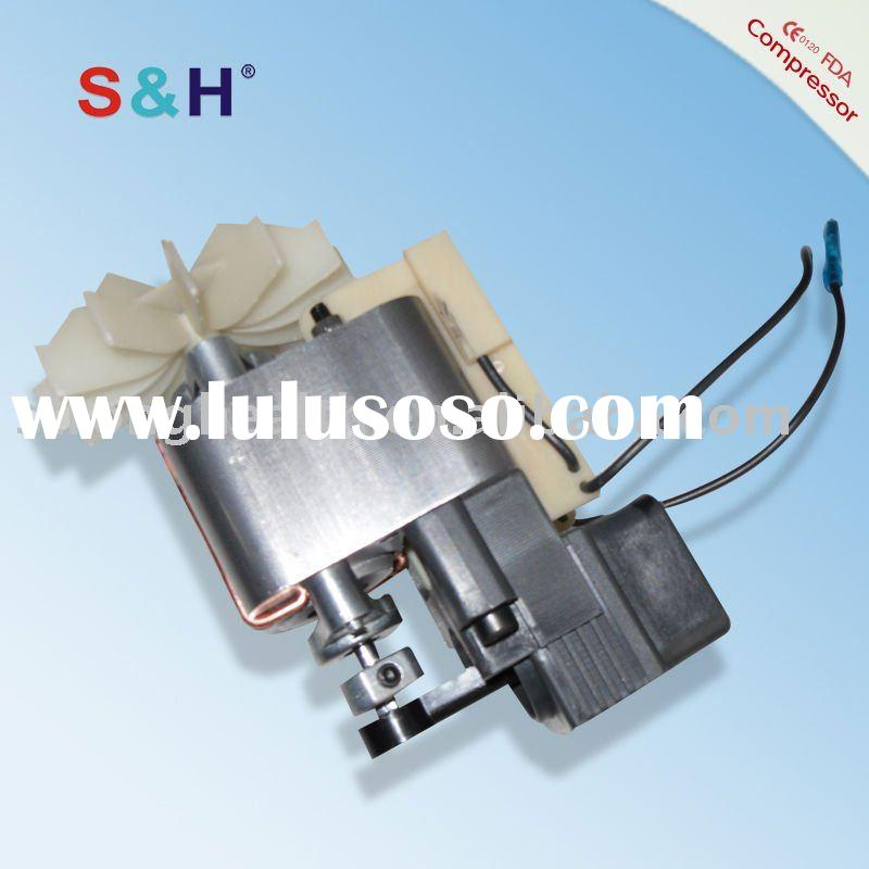 Heavy duty Shaded pole motor for compressor nebulizer ( Uebe,Mabis,Citizen,Bantex)