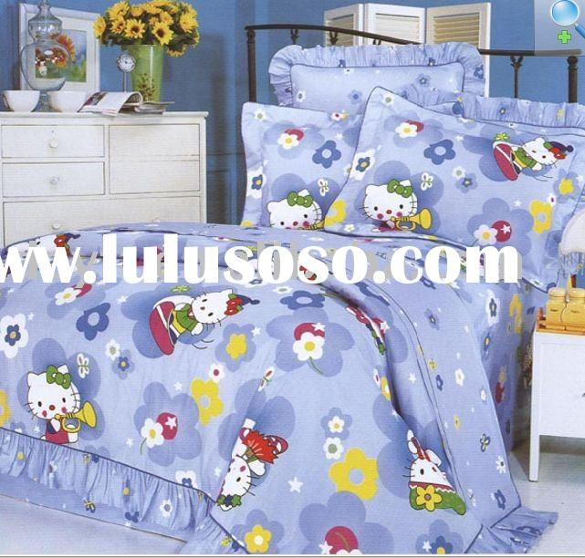 Hello Kitty Kids Bedding Set D039 on sale wholesale & drop shipping