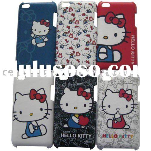 Hello kitty Leather pattern Hard Case for Apple iPod Touch 4 4G