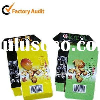 High grade Customized design ecofriendly candy paper box