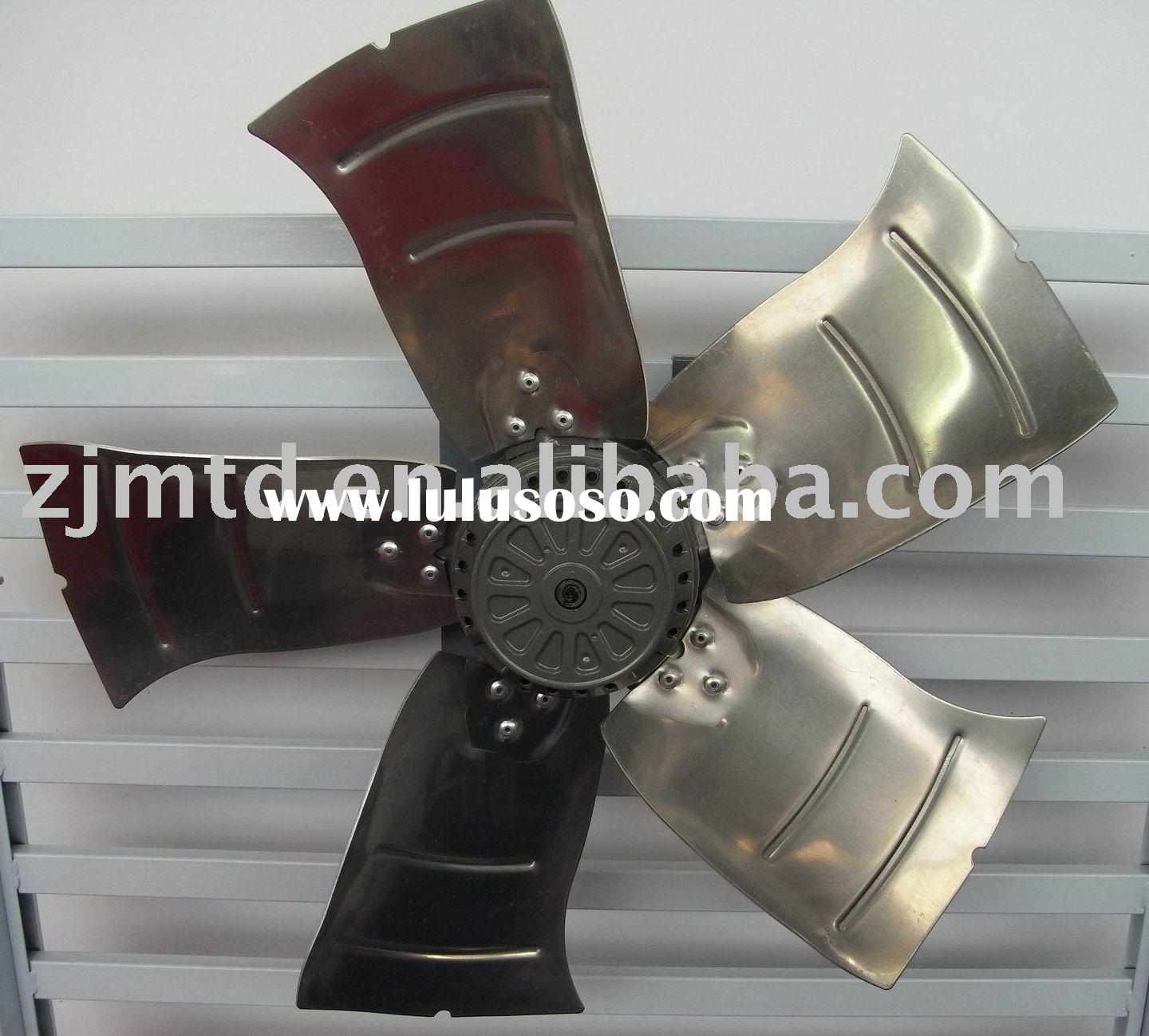 High-performance axial fan with external rotor motor(Aluminum fan blades)