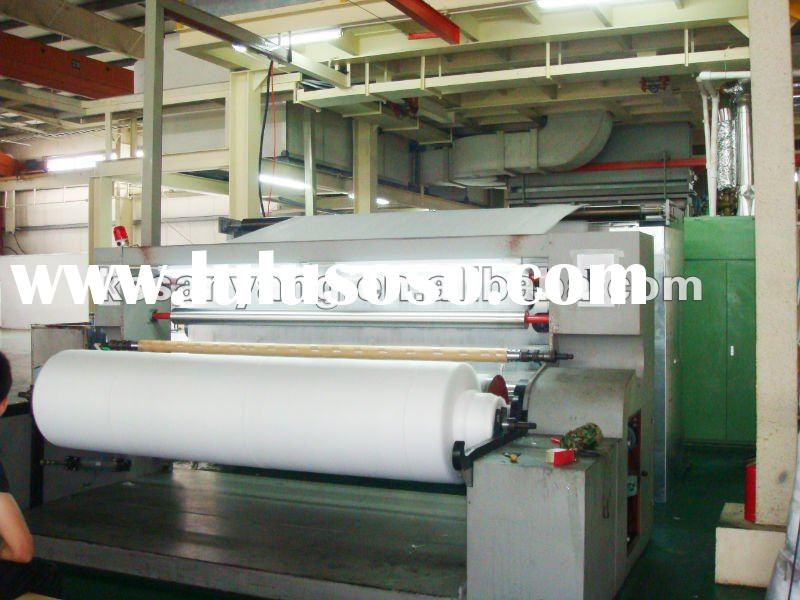 Highly welcomed S/SS--PP spunbond non woven fabric making machine