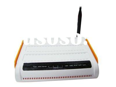 Home Gateway ADSL & Wireless Router & 2FXS VoIP