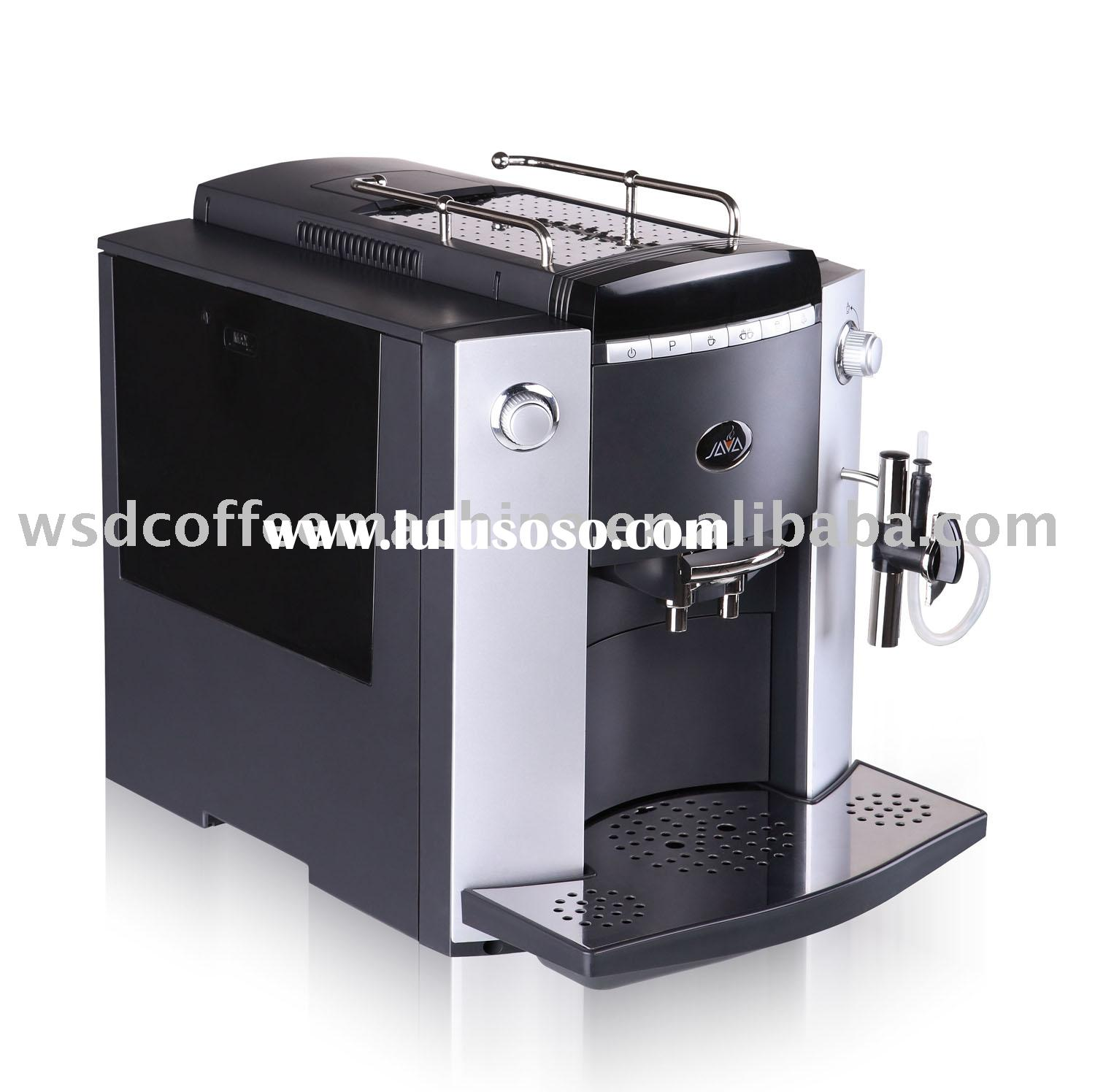 Home and Office Use Auto Coffee Machine (Black)