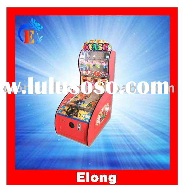 Hot sale coin operated lottery machine - coin operated lottery ticket game machine