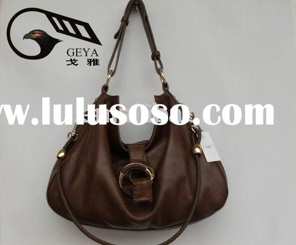 Hot selling!The fashion styles for ladies genuine leather purse handbags in competitve price