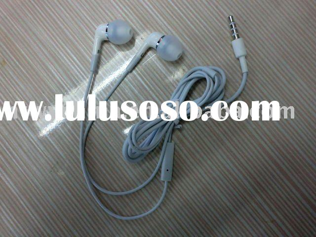 Hotselling!!!In-ear earphone headphone earbuds with mic For iphone,ipod,MP3