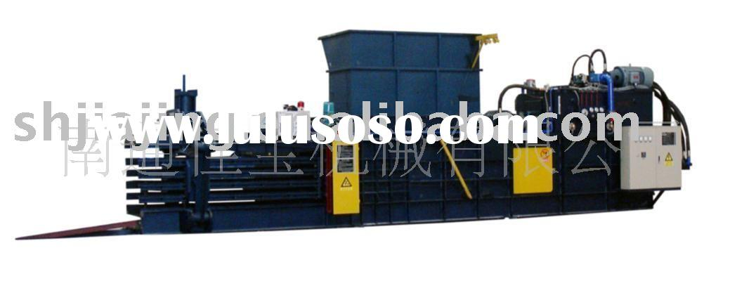 Hydraulic Paper Baler Press Horizontal Pressure Baler ,Baling Press Machine