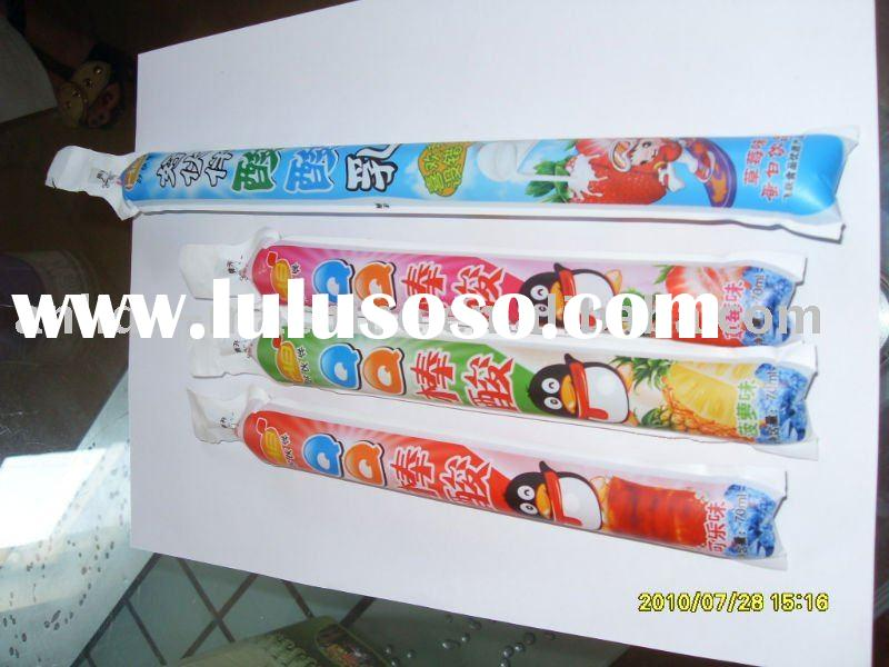 Ice pop filling sealing packing machine