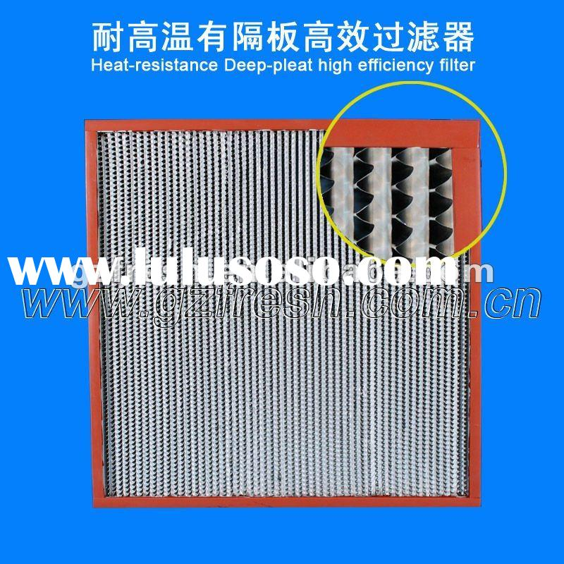 Industrial air filters HEPA filter aaf air filter hepa air handling unit air filter