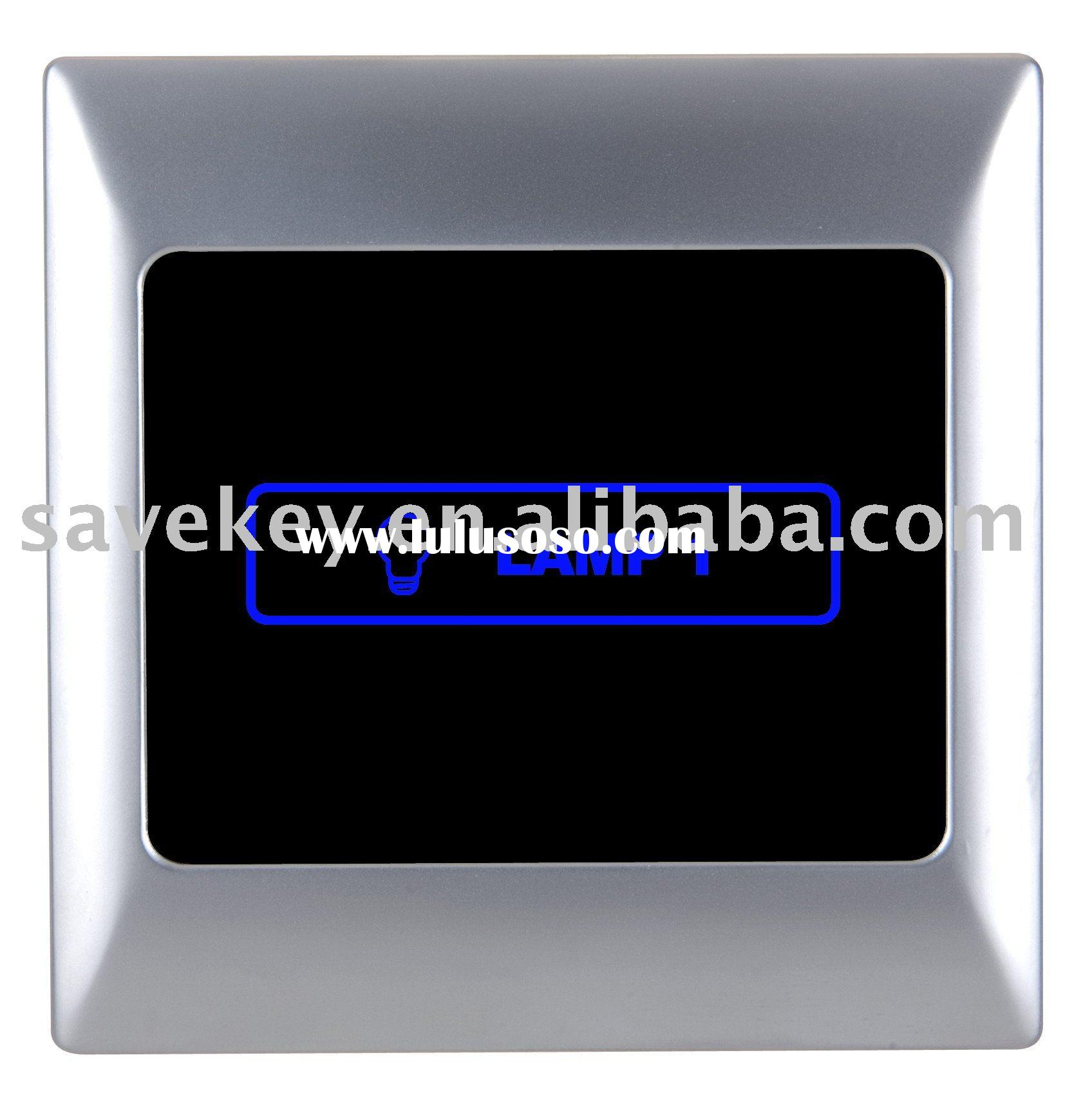 Infrared Remote Control Network Intelligent Lighting Touch Panel Switch Home Automation Samrt Home