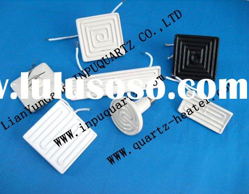 Infrared ceramic heater elements and ceramic infrared heating emitters(ceramic and quartz)
