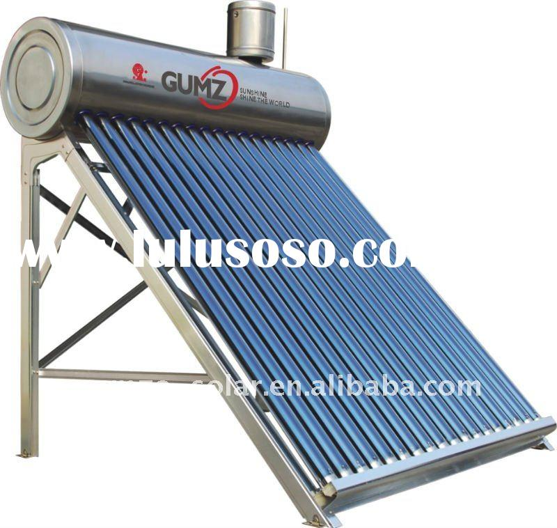 Integrative stainless steel solar water heater