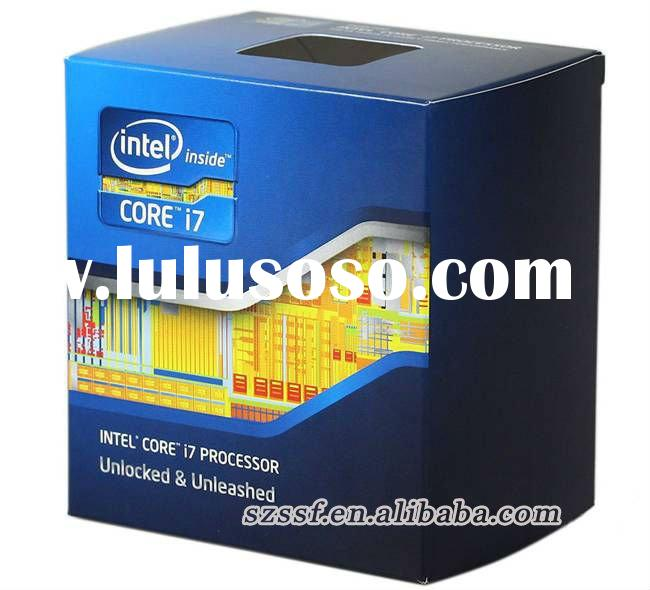 Intel core i7 2600k 3.4 GHz Dual-Core processor