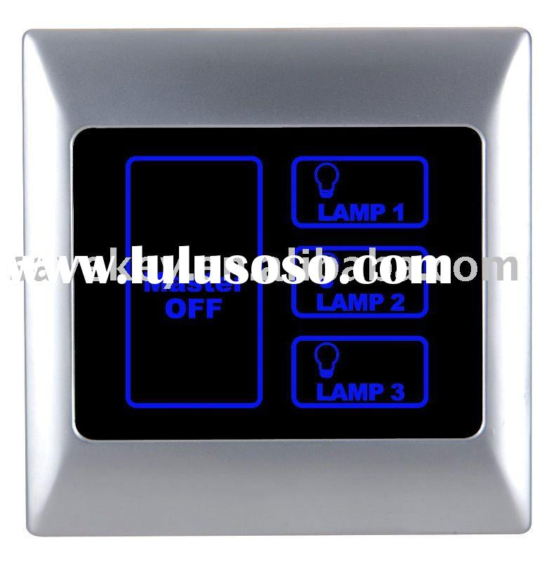 Intelligent network Lighting Control Touch Panel /infrared remote control switch/ home automation/ s