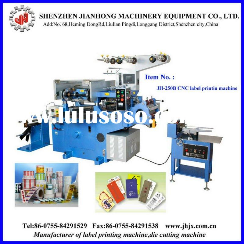 JH-250 Automatic Adhesive Label Printing Machine