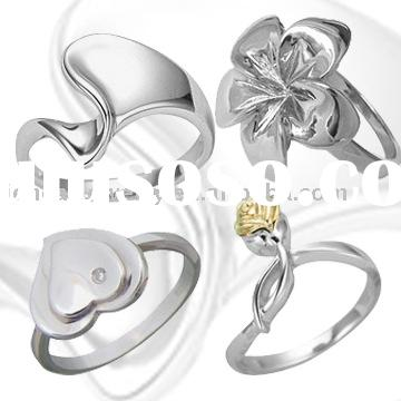 Jewellery Wholesale Only High Quality Genuine Solid 925 Sterling Silver Ring jewellery , Nickel Free