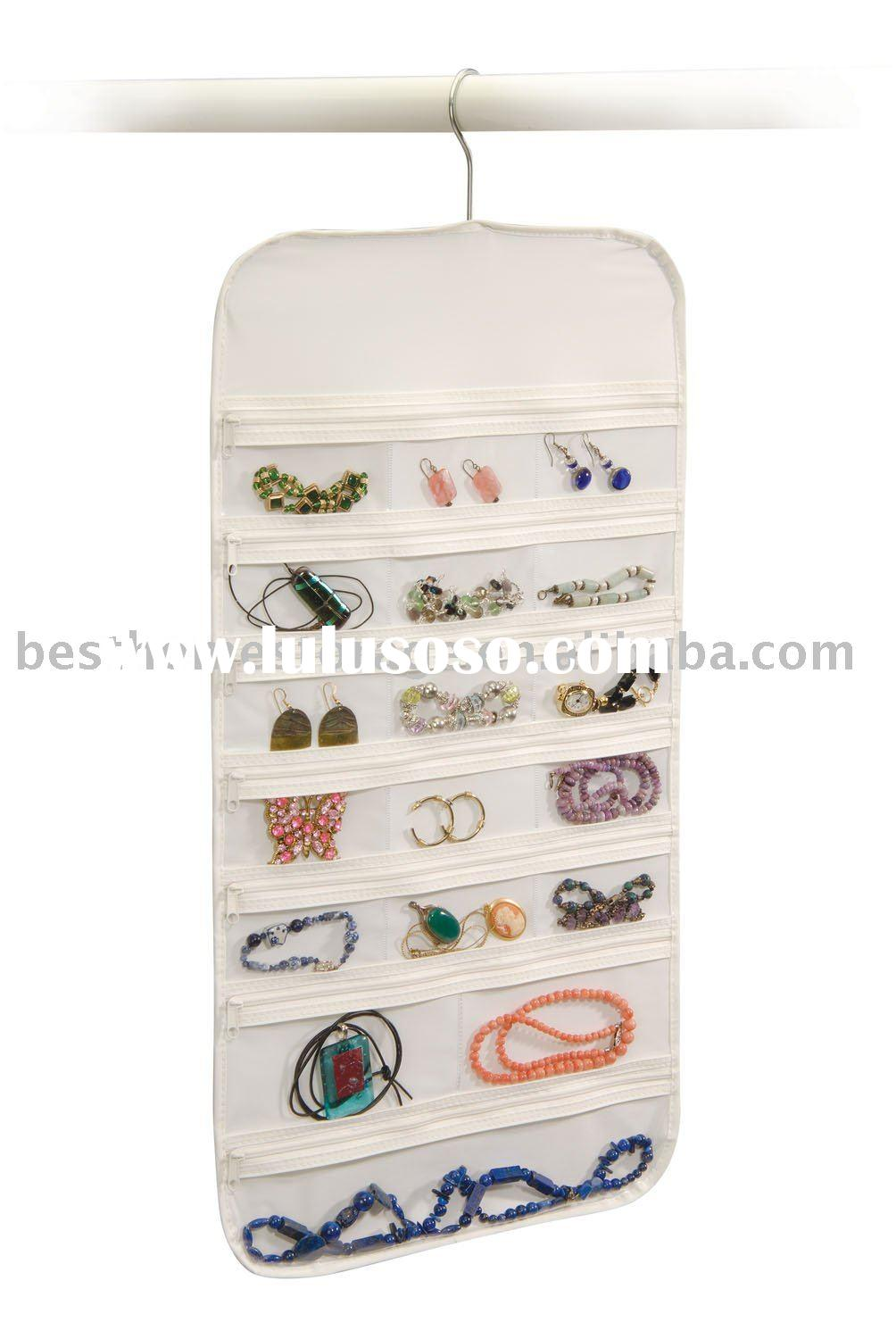 Jewelry Organizer- Zippered - 37 Pockets