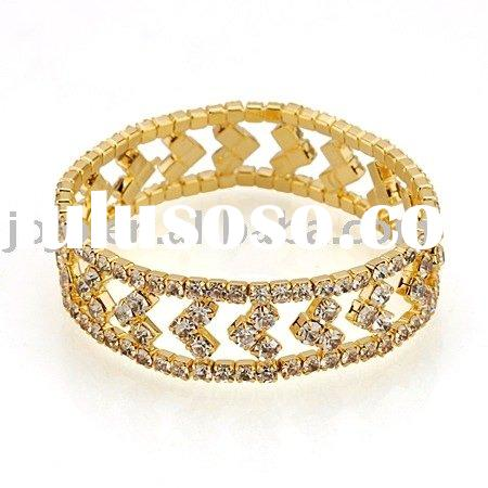 Jewelry, gloden plated alloy bracelet ,fashion female jewelry accessory