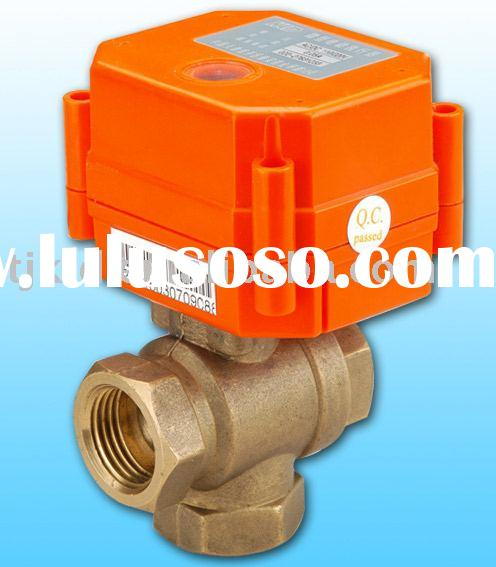 KLD20S 3 Way(A) Electric Ball Valve for automatic control, HVAC, solar heating