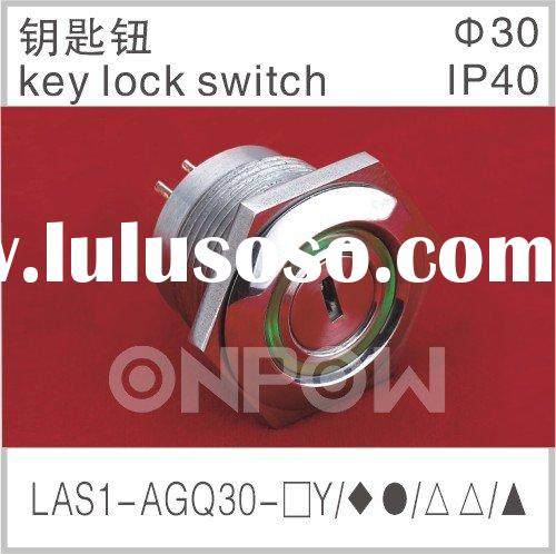 LAS1-AGQ 30 key lock switch(key switch ,key lock)