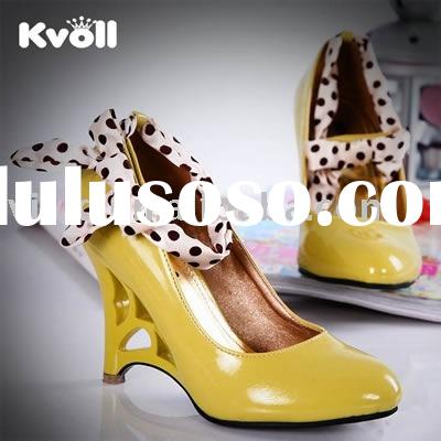 Ladies Dress Shoes, Designer shoes ,fashion women shoes,Wedge PU shoes D2988