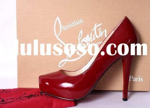 Lady fashion designer new style 2012 spring summer lady shoes in stock